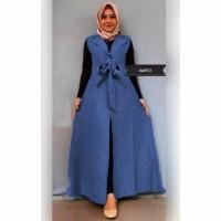 Baju outer wanita muslim kardigan panjang CPO