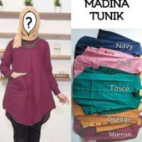 Baju tunik wanita muslim simple premium