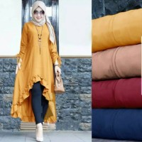 Baju tunik wanita muslim Tunic Love premium
