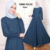 Baju Gamis wanita polos muslim premium quality