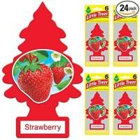 parfum mobil little trees strawberry