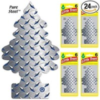 parfum mobil little trees pure steel