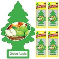 pewangi mobil little trees green apple