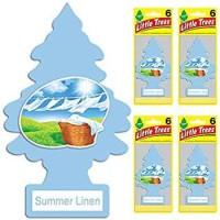 pewangi mobil little trees summer linen