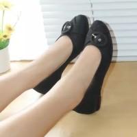 Sepatu Flat Wanita Flatshoes Mulan Byu01 BLack