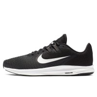 Sepatu Lari Nike Downshifter 9 Black White Original AQ7481-002