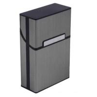 Kotak Rokok Aluminium Elegan Taffware Aluminium Cigarette Case YH006