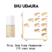 SHU UEMURA PETAL SKIN FLUID FOUNDATION PORELESS COVERAGE SPF 20