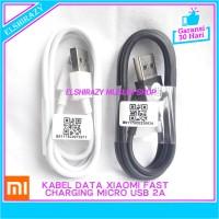 Kabel Data Charger Xiaomi Redmi Note 6 Pro Original Micro USB - Putih