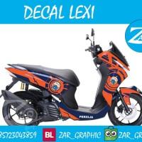 jual decal sticker Yamaha Lexi Persija new