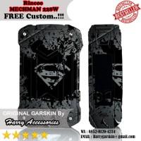 Origial Garskin Rincoe MECHMAN 228W Motif Steel - Free Custom Gambar
