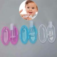 Sikat Gigi Jari Untuk Bayi BPA Free - Putih