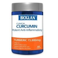 bioglan clinical curcumin 60tablet turmeric 15,800mg