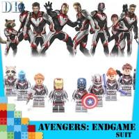 Marvel Avengers Endgame Quantum warfare The Avengers Minifigures Lego