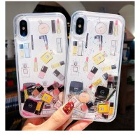Case iPhone 6S 7 8 Plus XS Max XR Hard Lipstick Perfume Bottle Dynamic