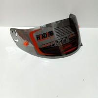 kaca flat visor + tear off post ink cl max iridium silver, blue, gold