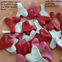 Balon Latex hati Love