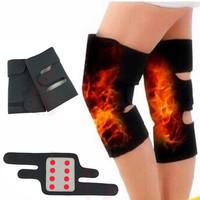 1 Pair Tourmaline selfheating kneepad brace Magnetic Knee Suport Belt