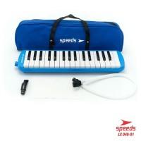 Alat musik pianika set selang tas speeds lx049-1 bukan marvel yamaha