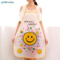 Cartoon Apron Sleeveless Waterproof Anti oil Aprons Kitchen Cooking W