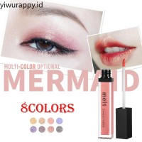 Meis8colors refreshing sequins eye shadow diamond color polarized lip