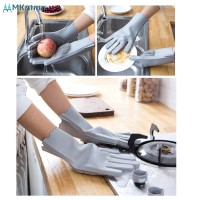 Multi Functional Silicone Housework Double Sided Use Hand Gloves MKsh