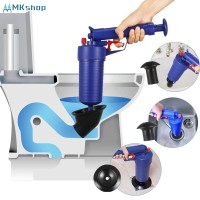 Toilet Plunger, Air Drain Blaster, Pressure Pump Cleaner Pump Bath To