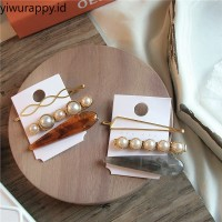 1pcs INS style creative pop girl pearl hairpin personalized jewelry
