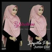 Terbaru Hijab Kerudung Jilbab Instan Khimar Shakira Saqilla Pearl