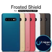 Hard Case Nillkin Super Frosted Shield Samsung Galaxy S10 Plus + Ori