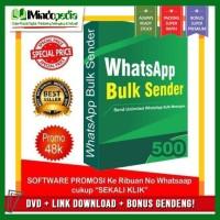 Bulk WhatsApp Sender Original   Software Kirim Pesan Masal Lewat WA