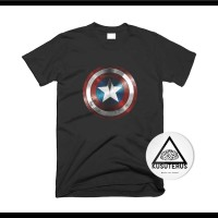 kaos/sablon/custom/superhero/captain america/1