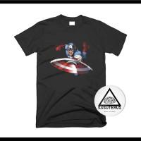 kaos/sablon/custom/superhero/captain america/2