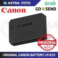 CANON LP-E12 BATTERY BATERAI ORIGINAL KAMERA M10 EOS M 100D M2 REBEL