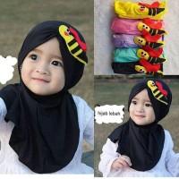 Jilbab Hijab Anak Bayi Perempuan Motif Lebah - Kerudung Anak