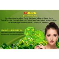 PROMO Sabun G-Herb Green Tea/Sabun Pencerah Wajah