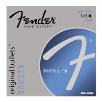 Fender 3150L Original Bullet Pure Nickel Light Electric Guitar Strings
