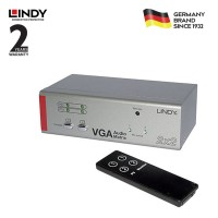 LINDY #32677 VGA & Audio Switch - 2 Port, Matrix