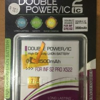 Baterai Double Power Double IC Log-On INFINIX S2 PRO / X522