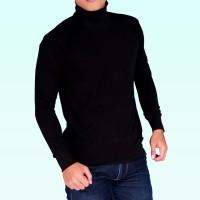 kaos turtle neck turtleneck pria wanita distro sweater baju fashion