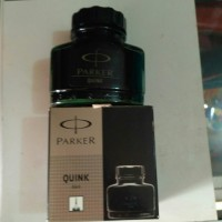 Tinta botol/Parker quint 57 ml harga 54.000 botol.