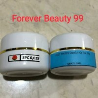 SPC 0,025 / HTD 0.025 cream malam whitening / krim flek ringan