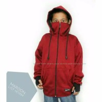 jaket ninja anak murah sweater ninja polos jaket masker bagus