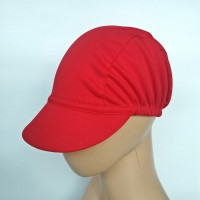 Cycling cap Topi sepeda Dryfit Red