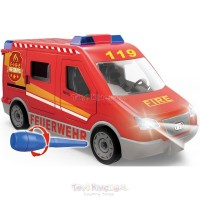 MAINAN EDUKASI - PINGDUO STAR DIY FIRE ENGINE ORIGINAL