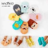 KAOS KAKI 3D korea bayi anak motif binatang lucu keren anti slip baby