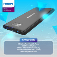 POWERBANK Philips 10.000 MAH DLP-2109