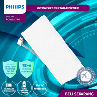 POWERBANK Philips DLP-1130S 10.000 MAH (Built in Micro USB Cable)