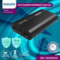 POWERBANK Philips 10.000 MAH DLP-2101U