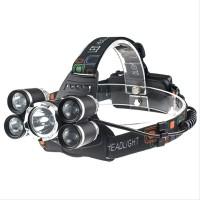 Senter Kepala Headlamp Cree XM-L 1T6 4XPE elektro
